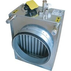 Värmebatteri paket 2-vägsventil Heru 130 S Vatten 5,0kW