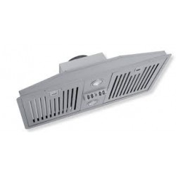 Inbyggnadsfläkt TFH 360 rostfri LED
