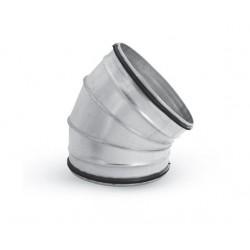 Ventilationsböj 45° stl 315mm för ventilation