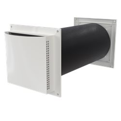 Flexit AERO 125 dB Friskluftsventil- Ljuddämpande
