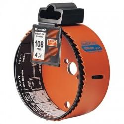 Hålsåg för ventilationsrör 125mm