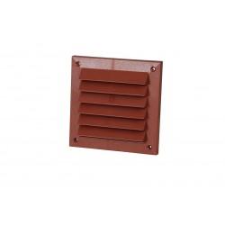 Utvändigt panelgaller 150x150 Röd