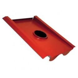 Avloppsluftare stl 110 Tegel röd