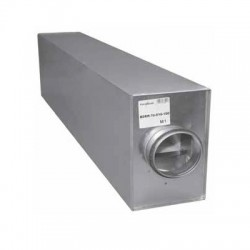 Ljuddämpare BDER-38-200 100cm