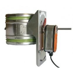 Systemair EFD 200 Spjäll + TF230 motor