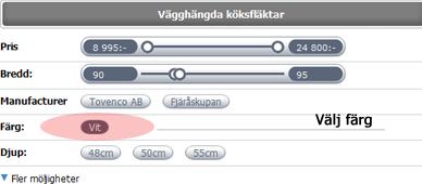 Hjälp köksfläktar - Luftbutiken.se