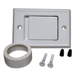 Electrolux väggsugdosa vitlackerad metall