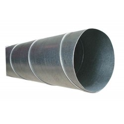 Ventilations Rör Ø 160 mm Längd 0,6 m (Spirorör)