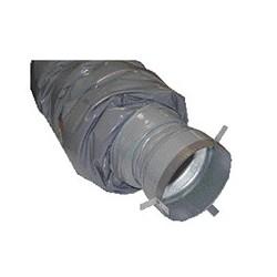 Ventilljudfälla Ø120-Ø100 mm Längd 1,2m