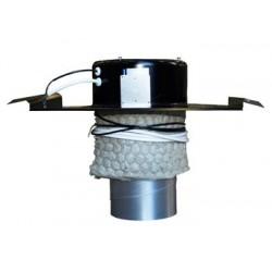 Systemair TOB 125-160 Profil Svart 160mm