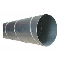Spirorör 100 mm Längd 1,5 m
