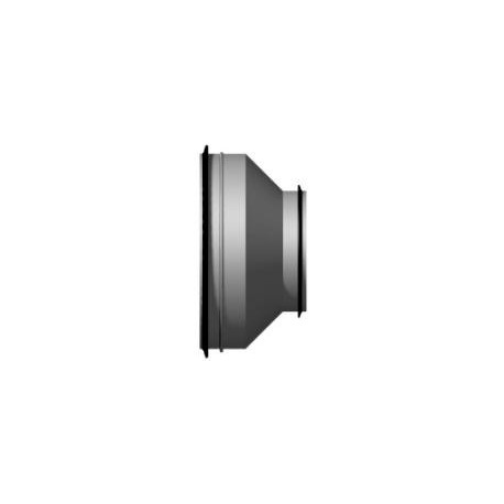 Rostfri Dim nippel/nippel stl 125/100