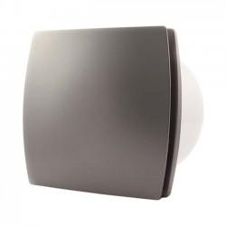 Badrumsfläkt T100S Standard Silver