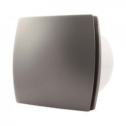 Badrumsfläkt T150S Standard Silver