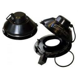 Systemair TFSR 160 Takfläkt svart