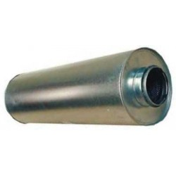 Ljuddämpare 160mm L1200mm