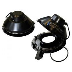 Systemair TFSR 200 Takfläkt svart 177 l/s