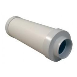 Ljuddämpare Ø50mm Längd 650mm