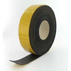 Elastomer Tape 15m x 50mm x 3mm svart