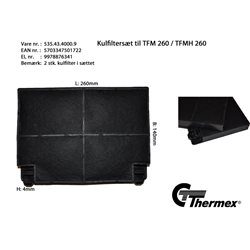 Thermex TFMH 260 Kolfilter