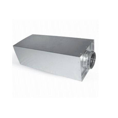 Ljuddämpare Ø125-50 L50cm Rektangulär