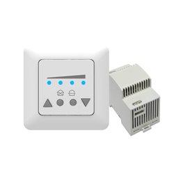Klimat Styrpanel LED trafo för DIN