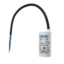 Kondensator 8µF utan Bult (EBM)