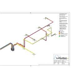 FTX Ventilationspaket -120 m2 (1,5- 2-plan)