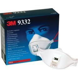 Ansiktsmask FFP3 med ventil 10-pack 3M