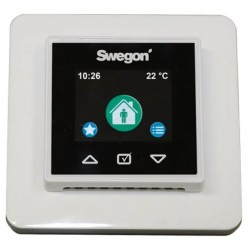 Swegon Smart Kontrollpanel ink. Modularkabel & Ram