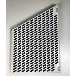 FIF400 Polyesterfilter komplett Vit, undersida