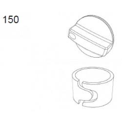 Kit: Vred strömst vit laserm +låscl, 240