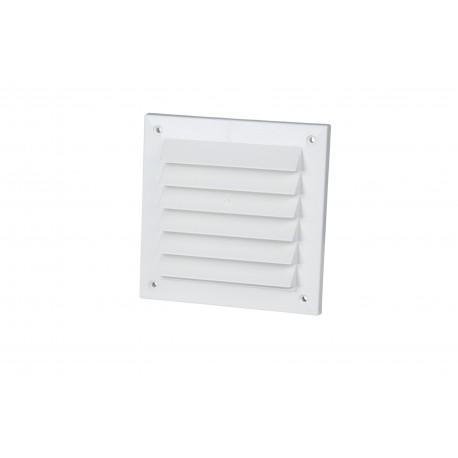 Utvändigt panelgaller 150x150 Vit