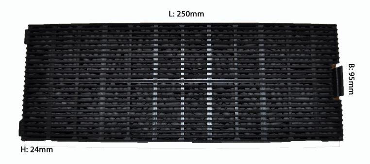 Europart Universal! 2 Vliesfiltermatten Kohlefiltermatte 570x470mm