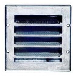 Ytterväggsgaller för ingjutning 150x150mm