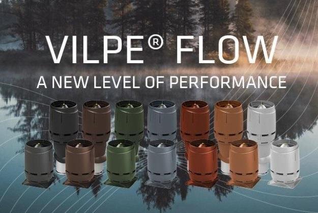 Vilpe flow takfläktar och takhuvar